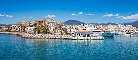 Lejligheder til salg i Marbella langs vandet